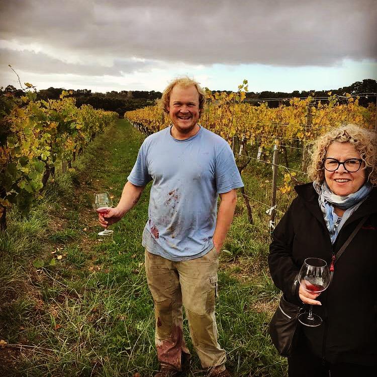 Tom McCarthy at Kerri Green Wines Vineyard
