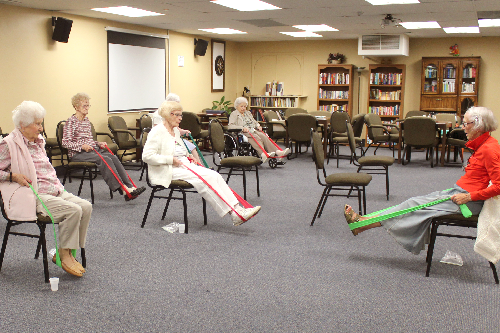 Birchmere Residence Exercise Class