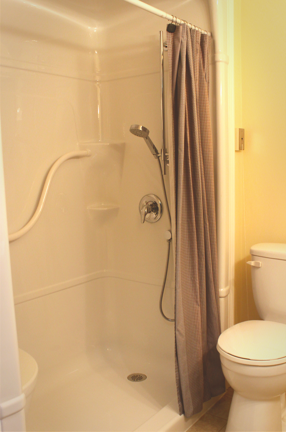 Birchmere Bathroom Shower. Click to view larger image.