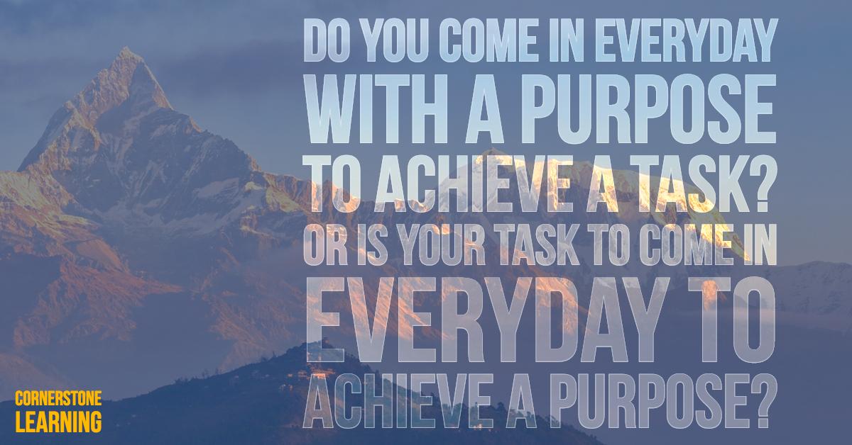 """""""Achieve Purpose"""" Poster"""