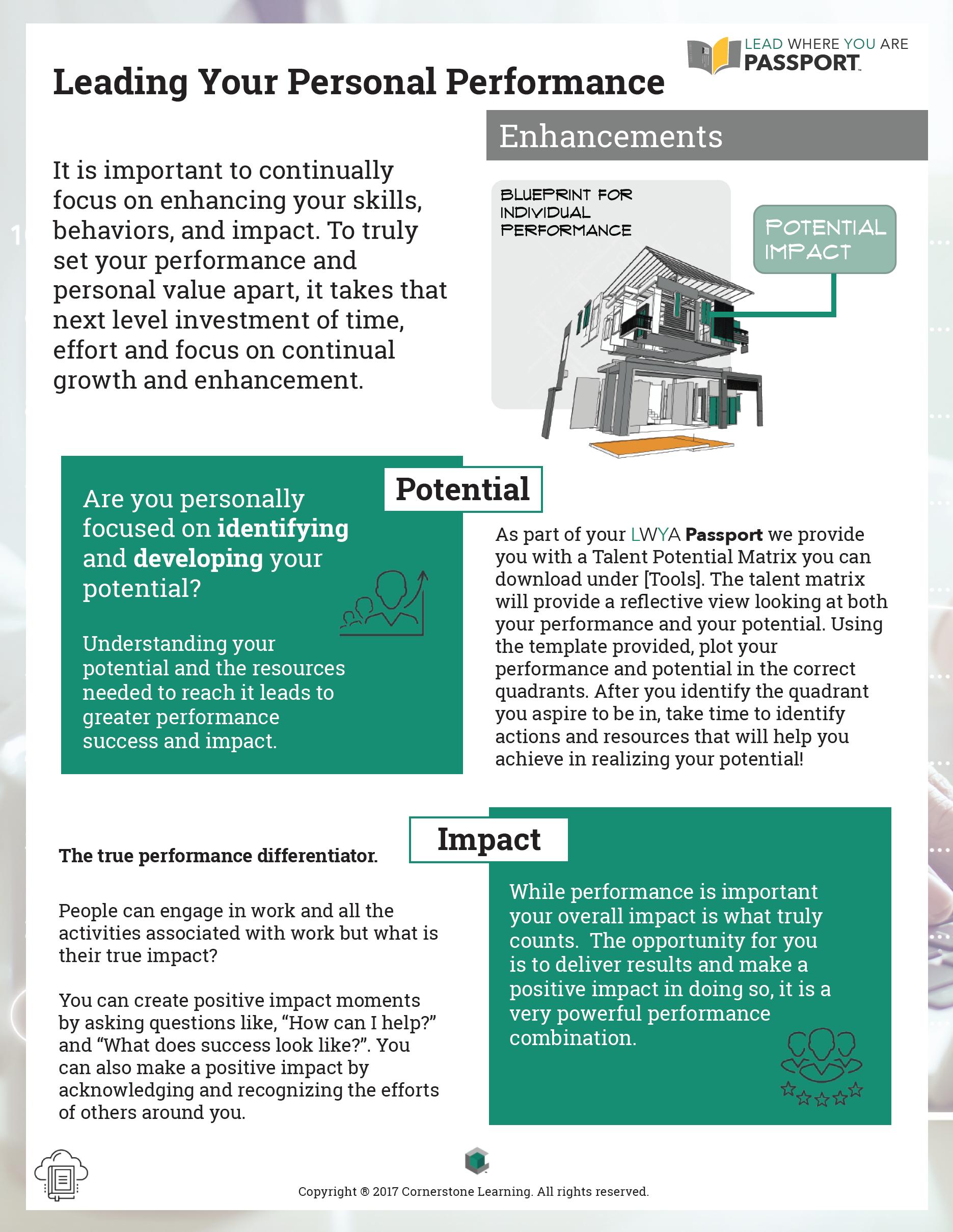 Personal Performance - Enhancements - PDF