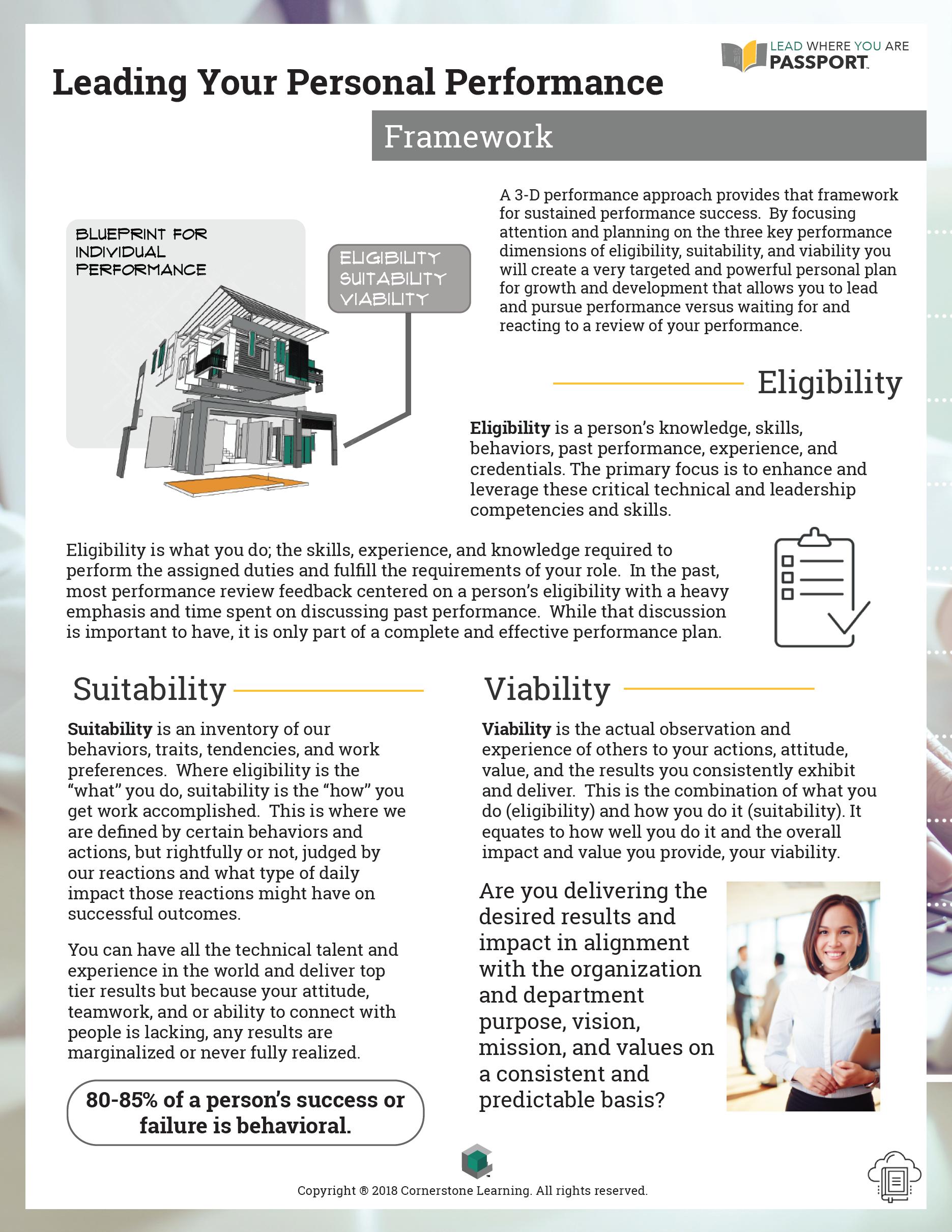 Personal Performance - Framework - PDF