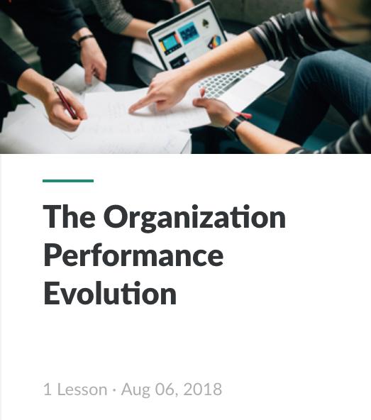 Interactive - Organization Performance Evolution