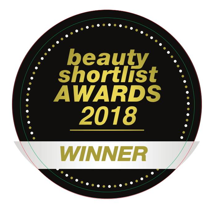 Beauty Shortlist Awards Winner