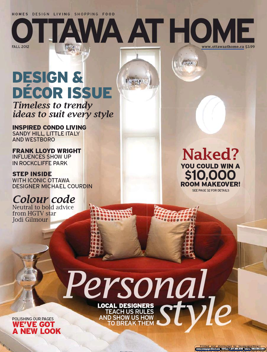 """""""Style Defined"""" Pages 28–29 Ottawa At Home Magazine, September 2012"""