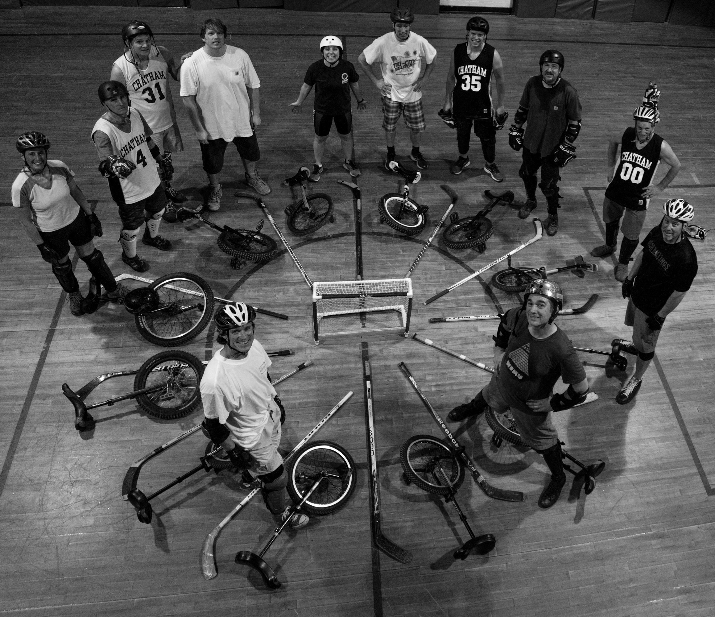 BW Chatham NY Unicycle Hockey