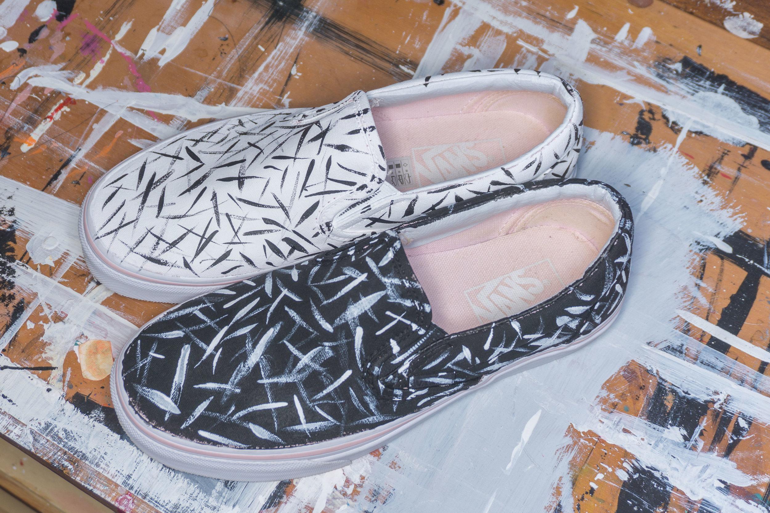 Vans Shoes Slashed