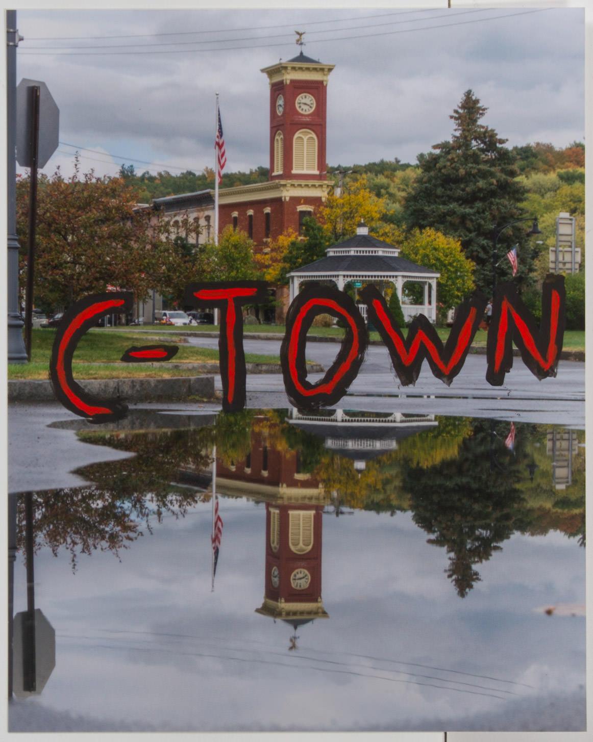 C-Town (8x10 - matte print - acrylic)