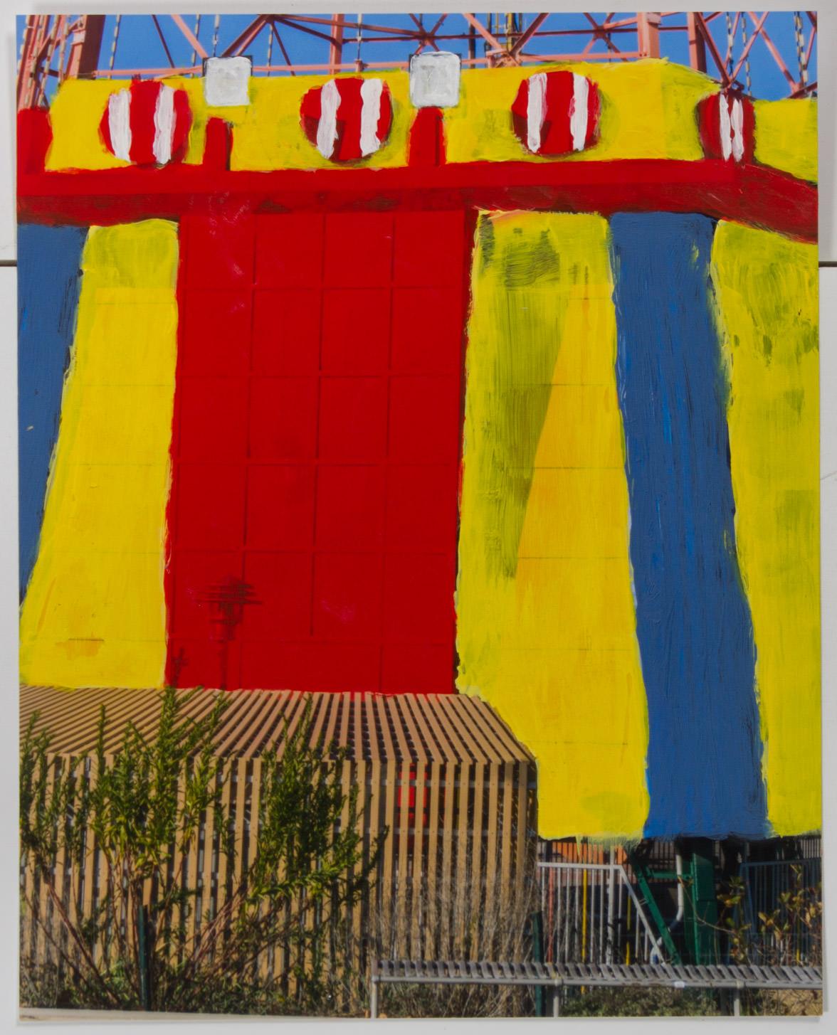 Coney Island Ride  (8x10 - matte print - acrylic)