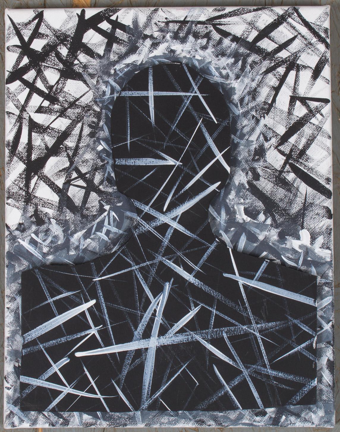 10x14 - canvas board/board - gesso/acrylic