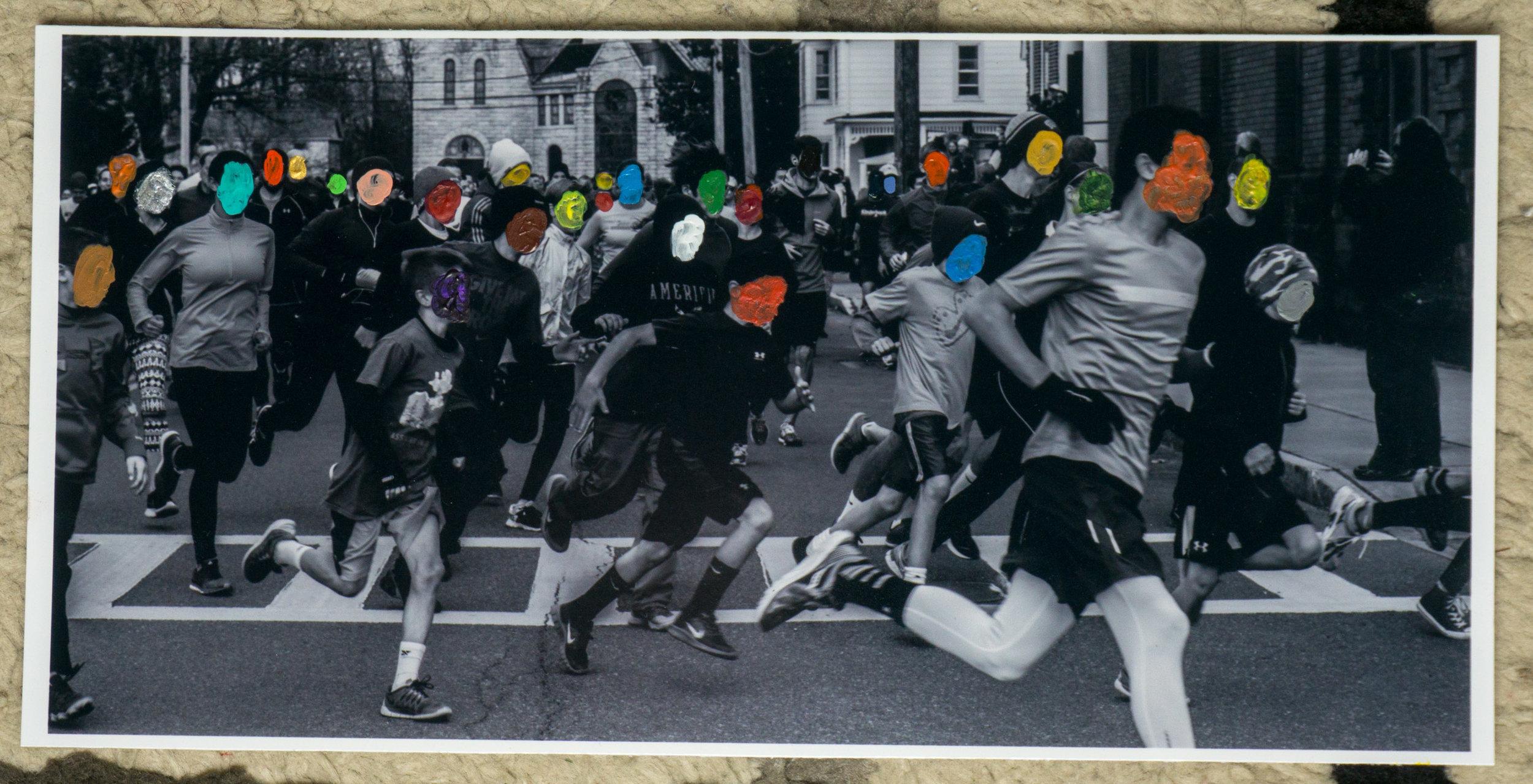 Turkey Run  (9x4 - print - acrylic