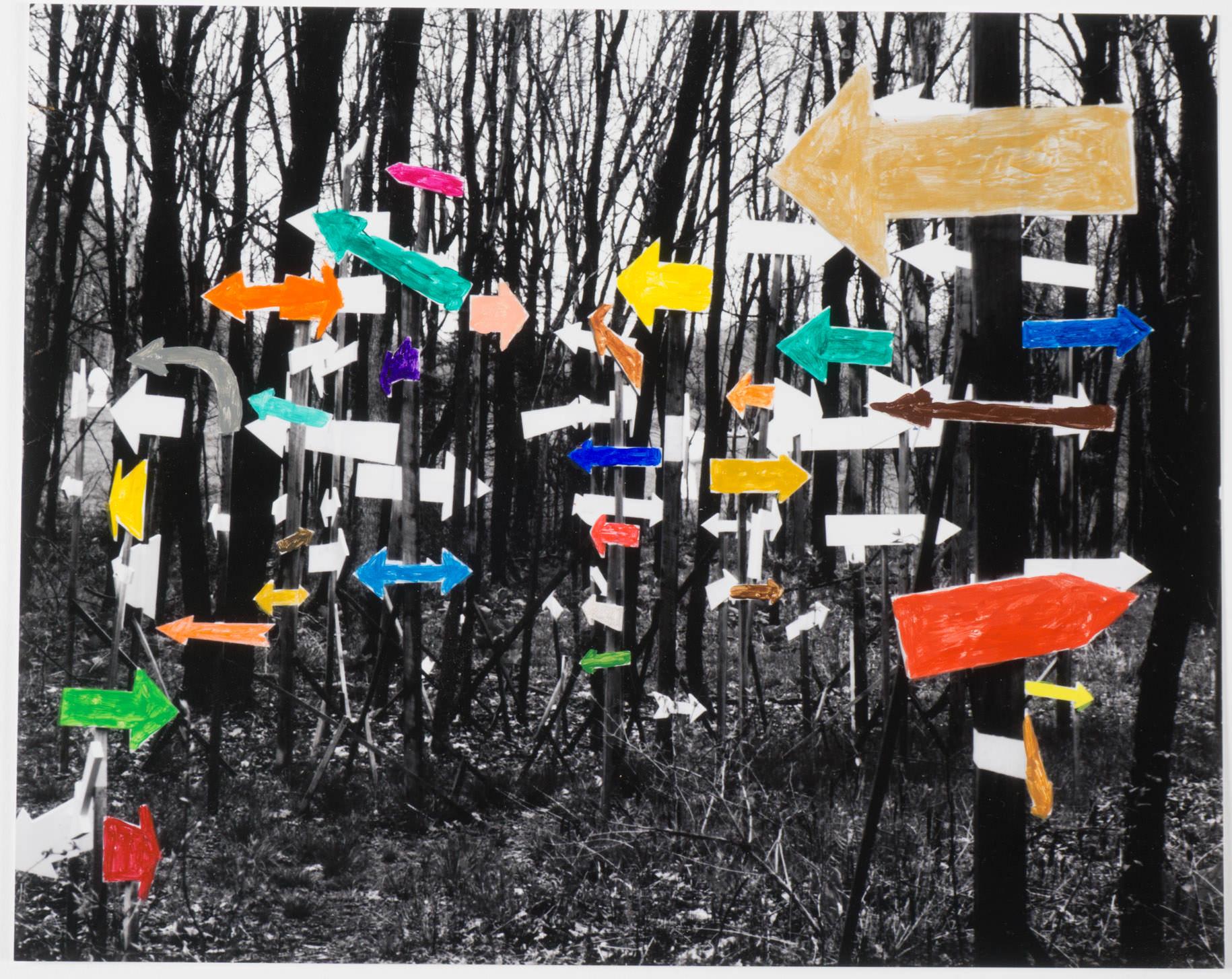 Lost Arrows   (8x10 - print - acrylic