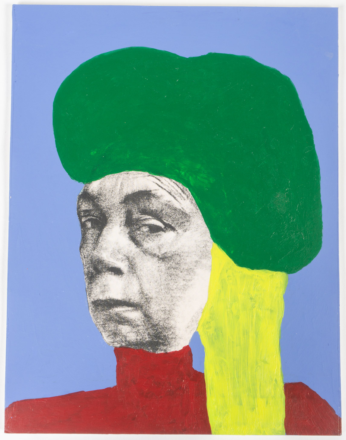 Ms.GYR  (8x11 - print/board - acrylic