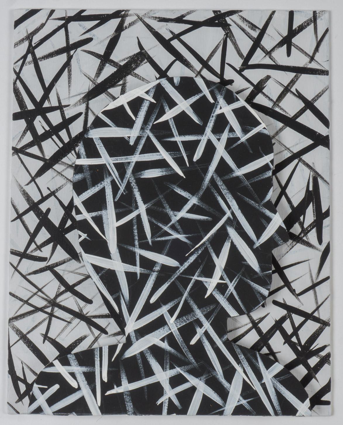 11x14 - canvas board/board - gesso