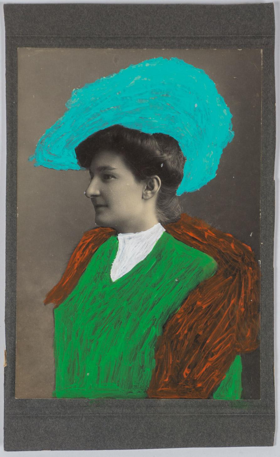 Vintage color fashion   (4x7 - print - acrylic