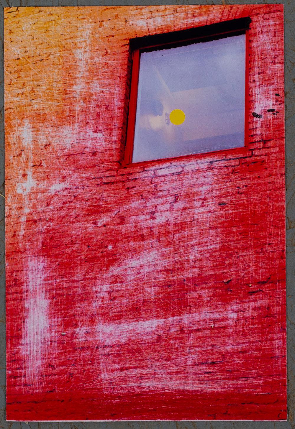 7x10 - photo print - sanded