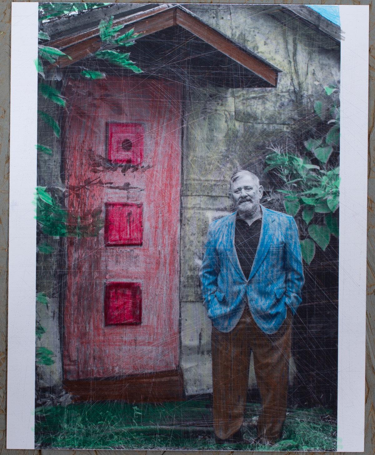 8x10 - photo print - pencil