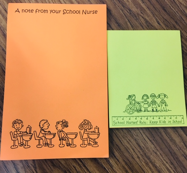 School Nurse Notepads now available for sale!!! -