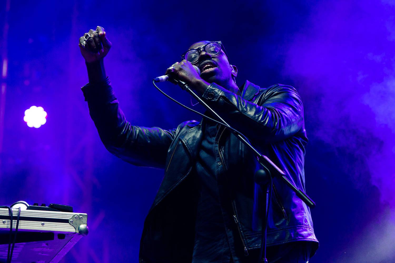 Ghostpoet performing at Reading Festival, UK. Photo:Sidney Bernstein. Courtesy Reading Festival.