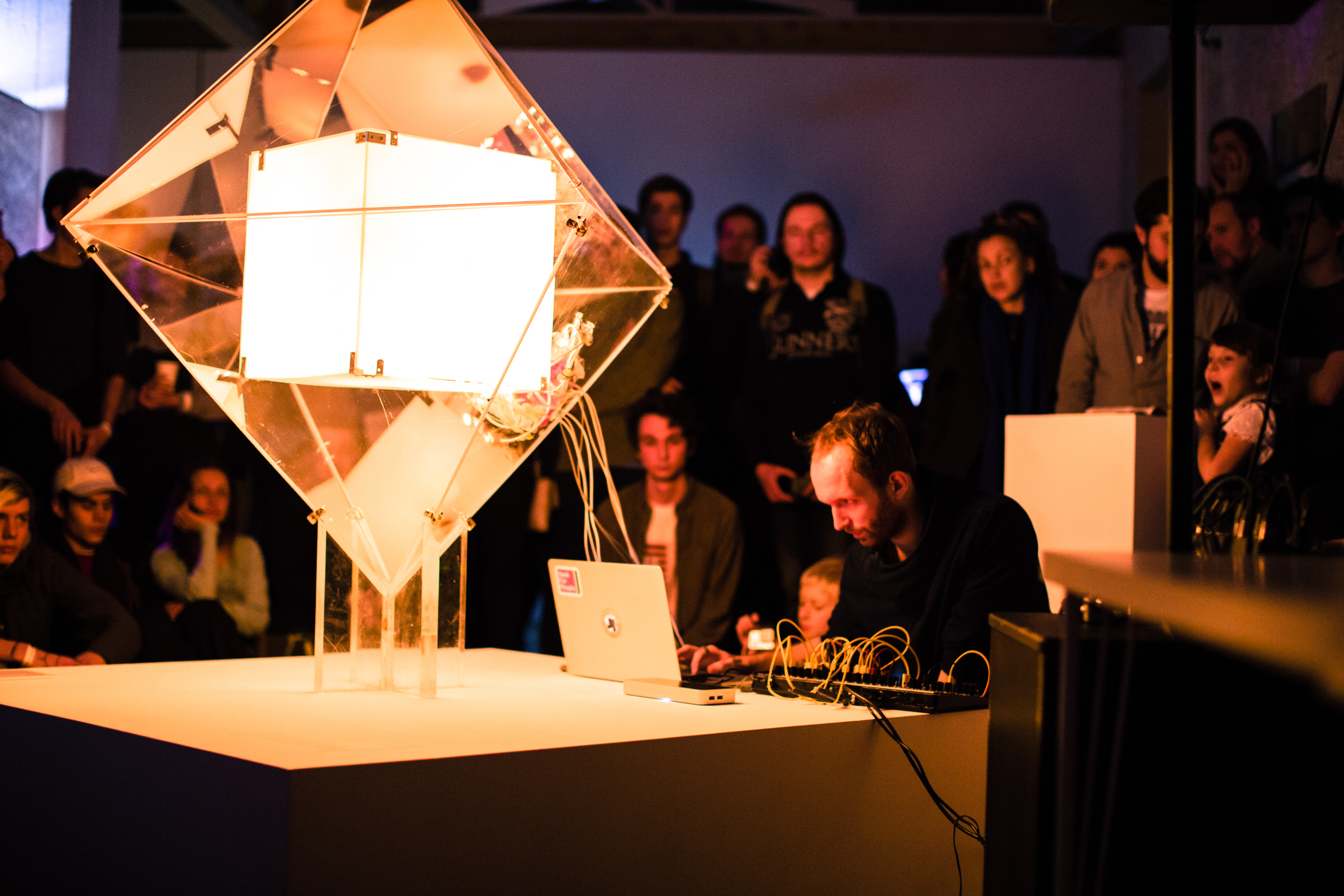 Crystal performance at   The Polytechnic Museum, Moscow