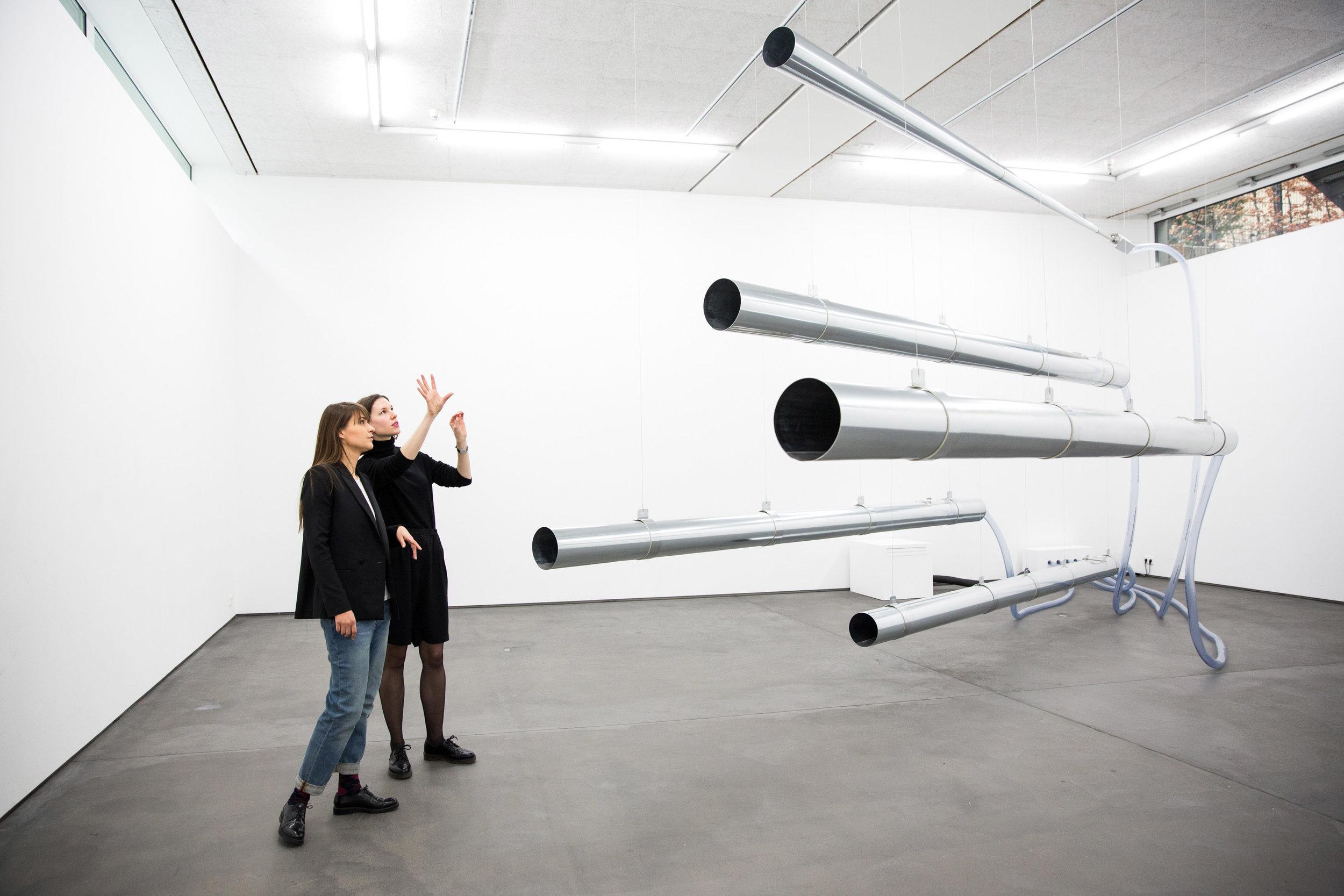 Das Numen Meatus in der Galerie DITTRICH & SCHLECHTRIEM, Berlin