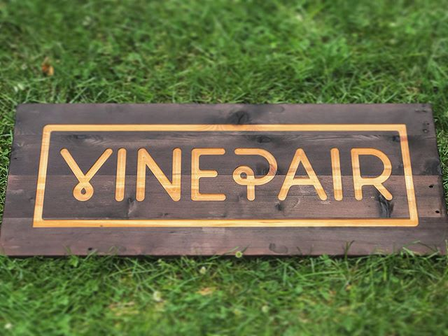 @vinepair sign all finished and ready for delivery #shousugiban