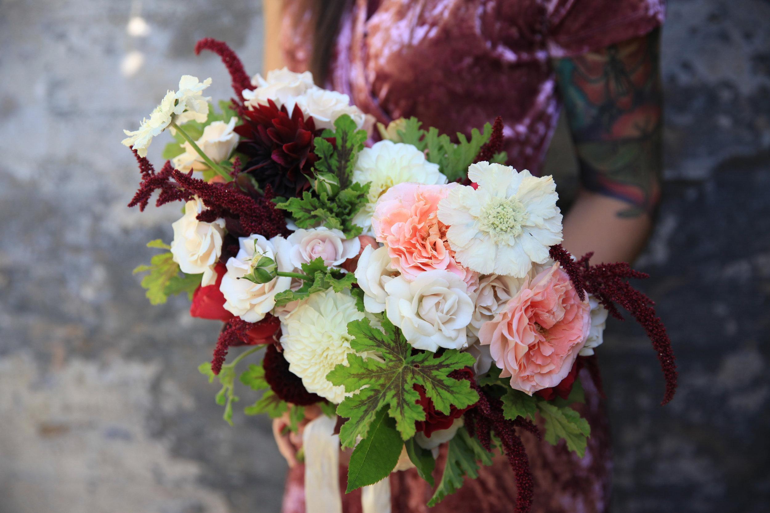 Morrice Florist bridal bouquet