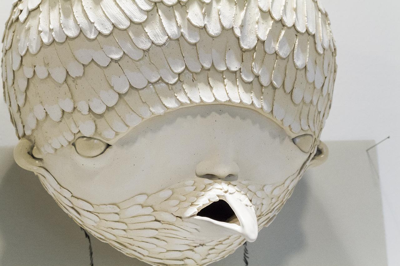Dislocation Series – Raven (detail), 2016