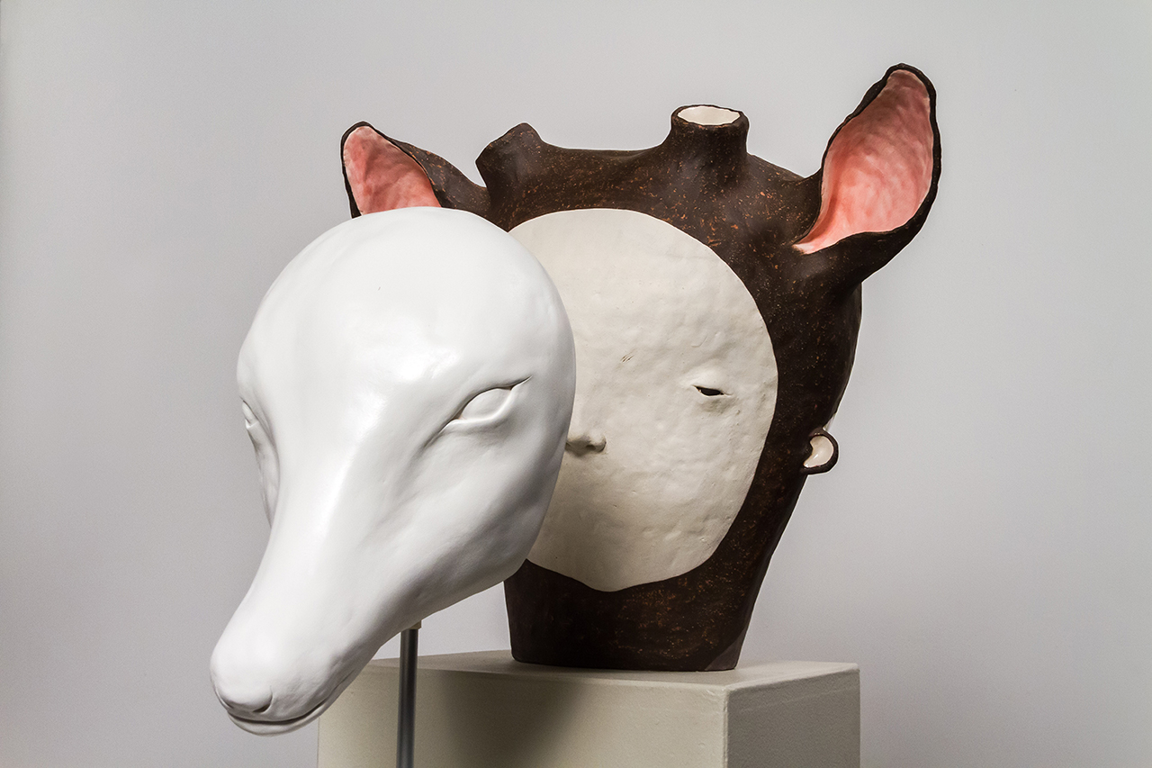 The Colour of Your Eyes, 2015 w44cm, h54cm, d35cm Glazed Stoneware