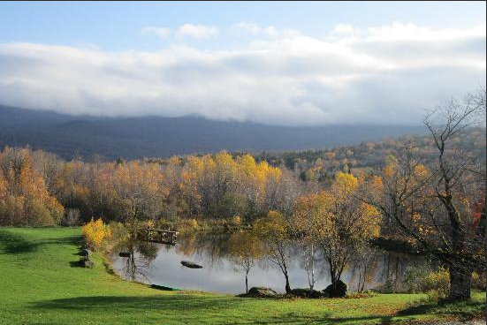 Enjoy the view of the mountains from each of our B&B's guest rooms.