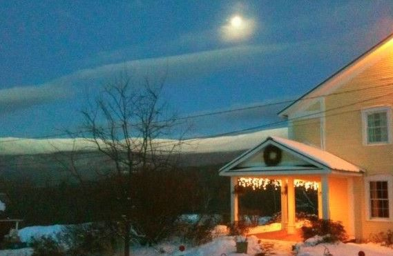 Winter at Vermont Bed and Breakfast at Russell Young Farm