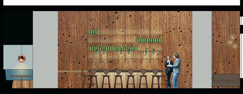 Section:  Cava Bar