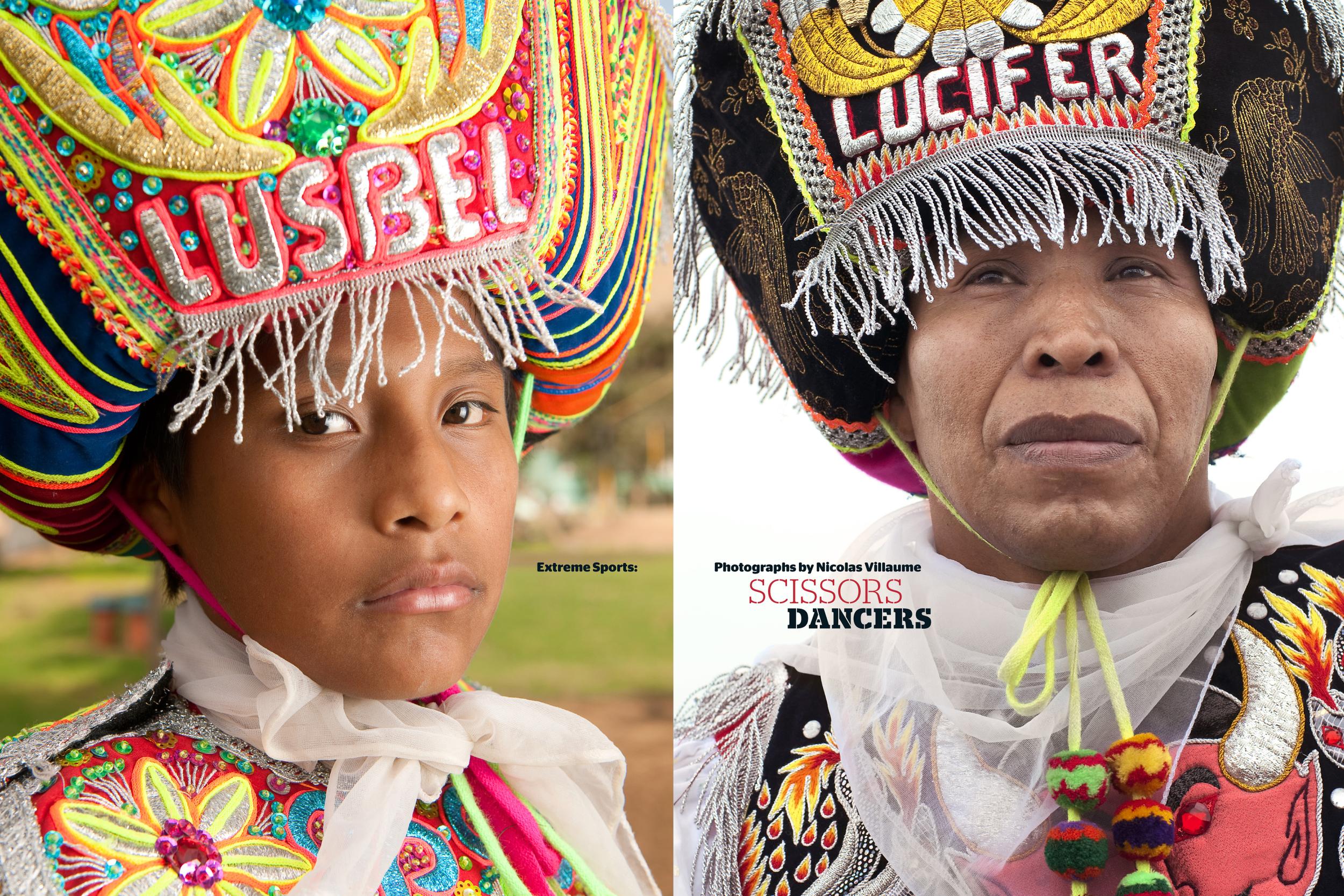 Scissors Dancers