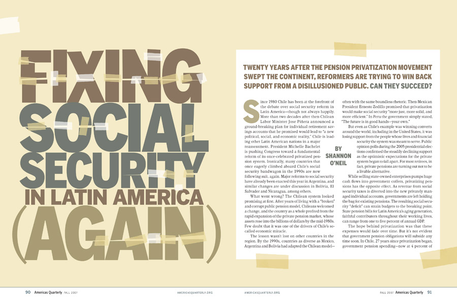 Fixing Social Security