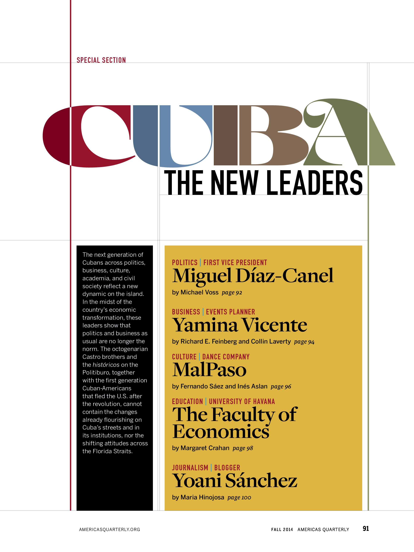 Cuba Contents