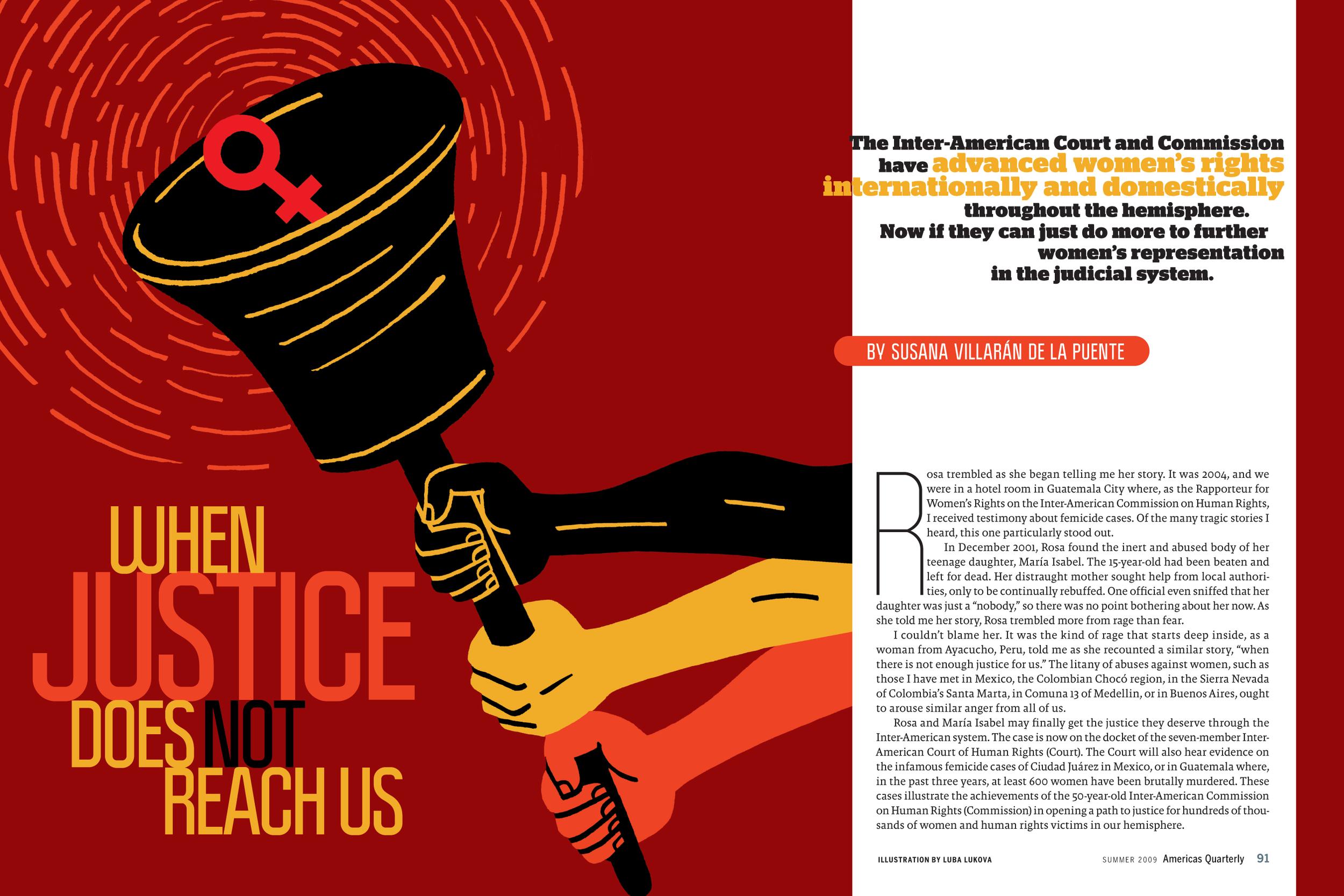 Women's Rights, AQ Magazine