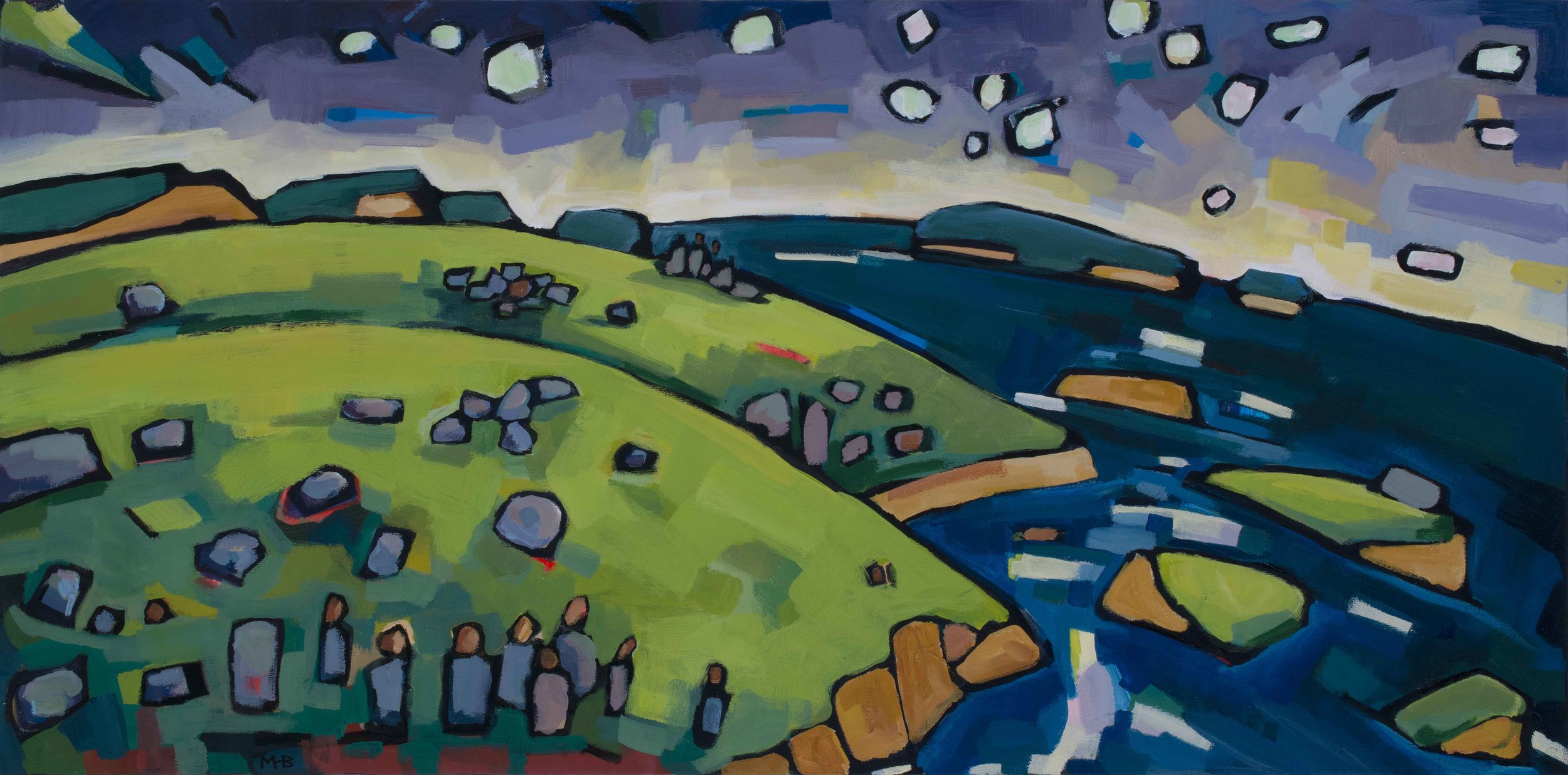 Of Stars and Stones (SOLD)