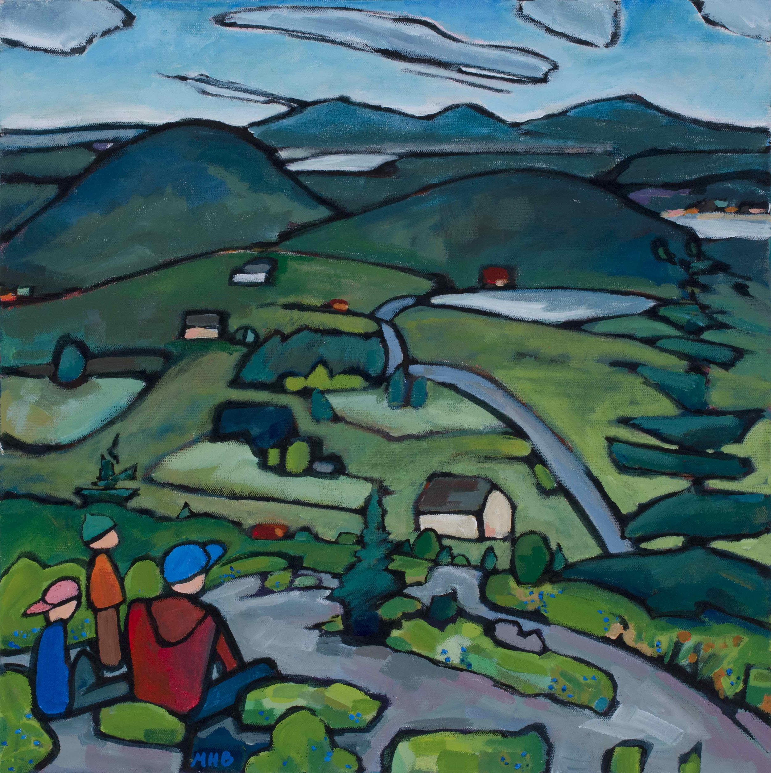 View from Bald Mountain (SOLD)