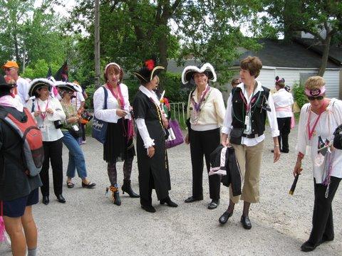 Linda in PDL Pirate Parade Peterborough Races 2010.JPG