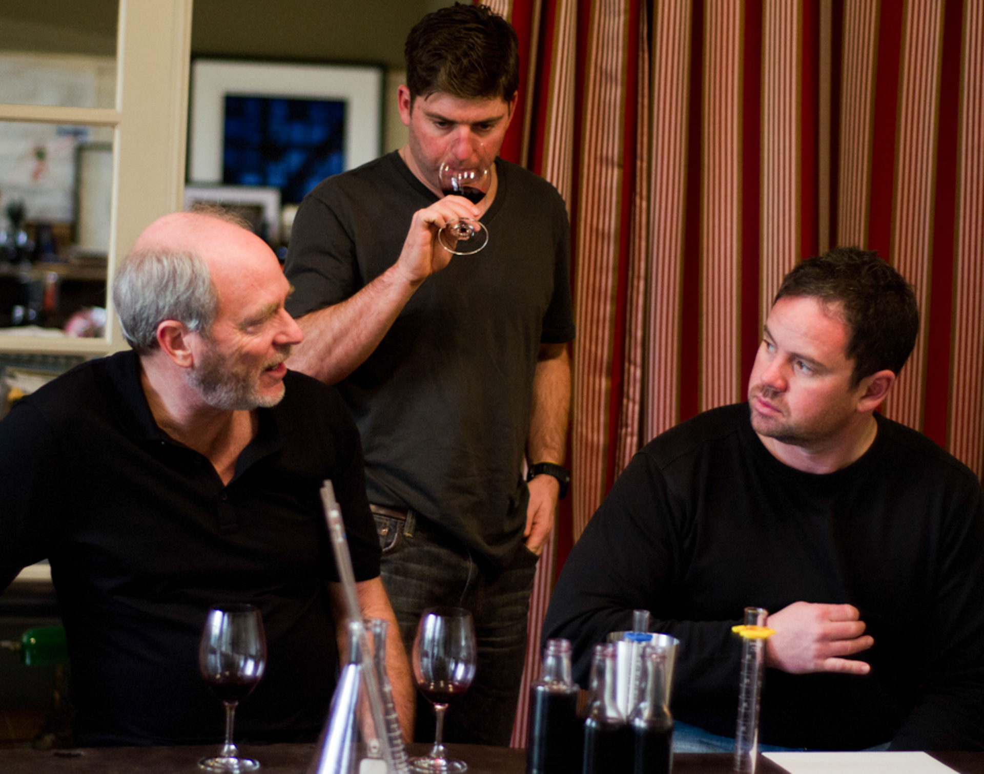 Greg Gorman , Dave Phinney & Kevin Fox
