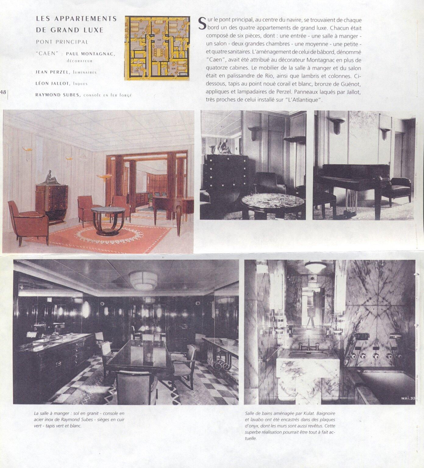 Cabinet D Architecte Caen pierre-paul montagnac modernist piano (#1036) — calderwood gallery