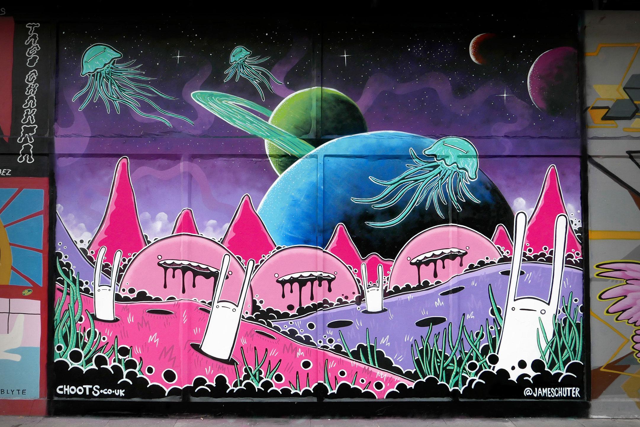 Cosmic mural