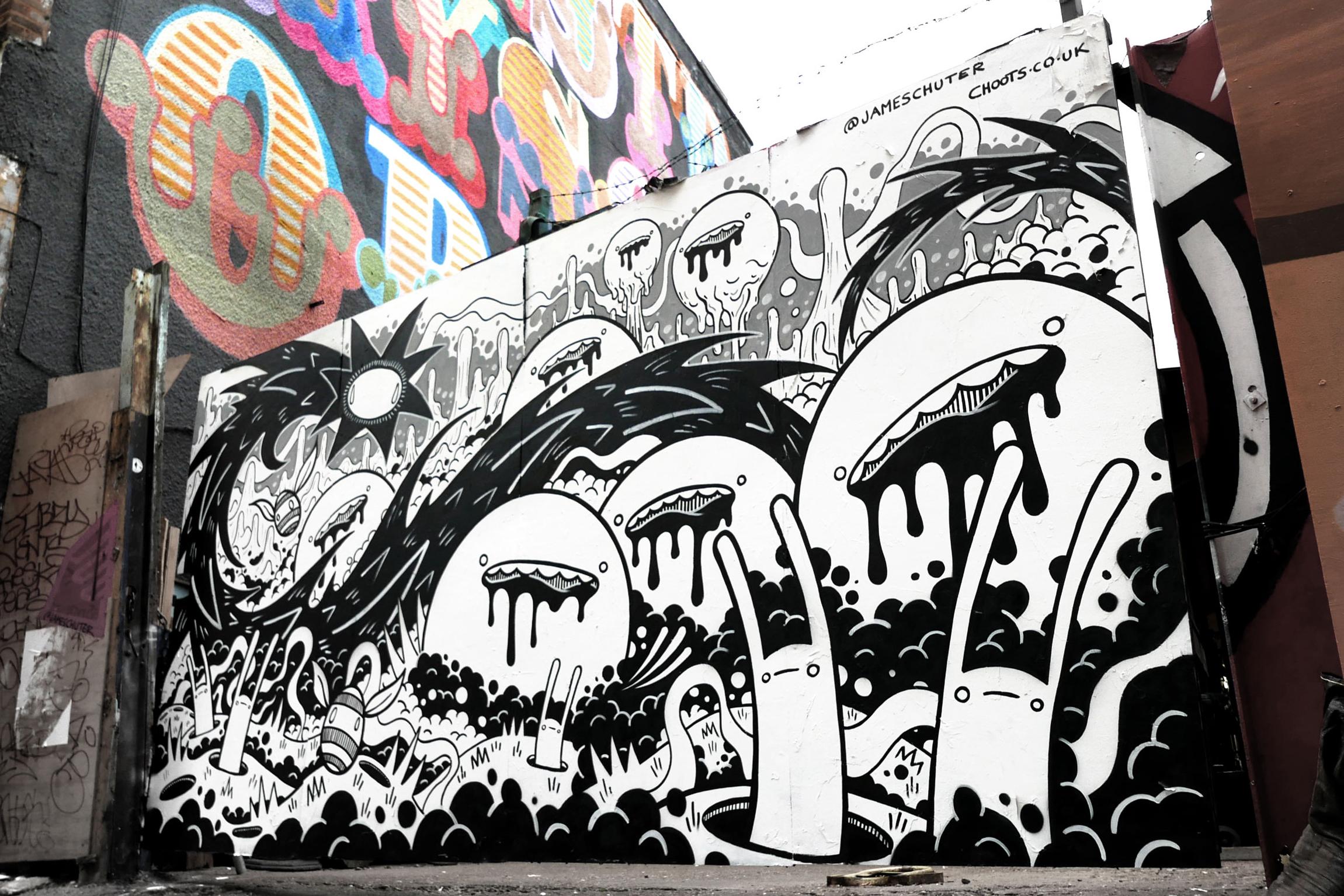 Rivington St mural