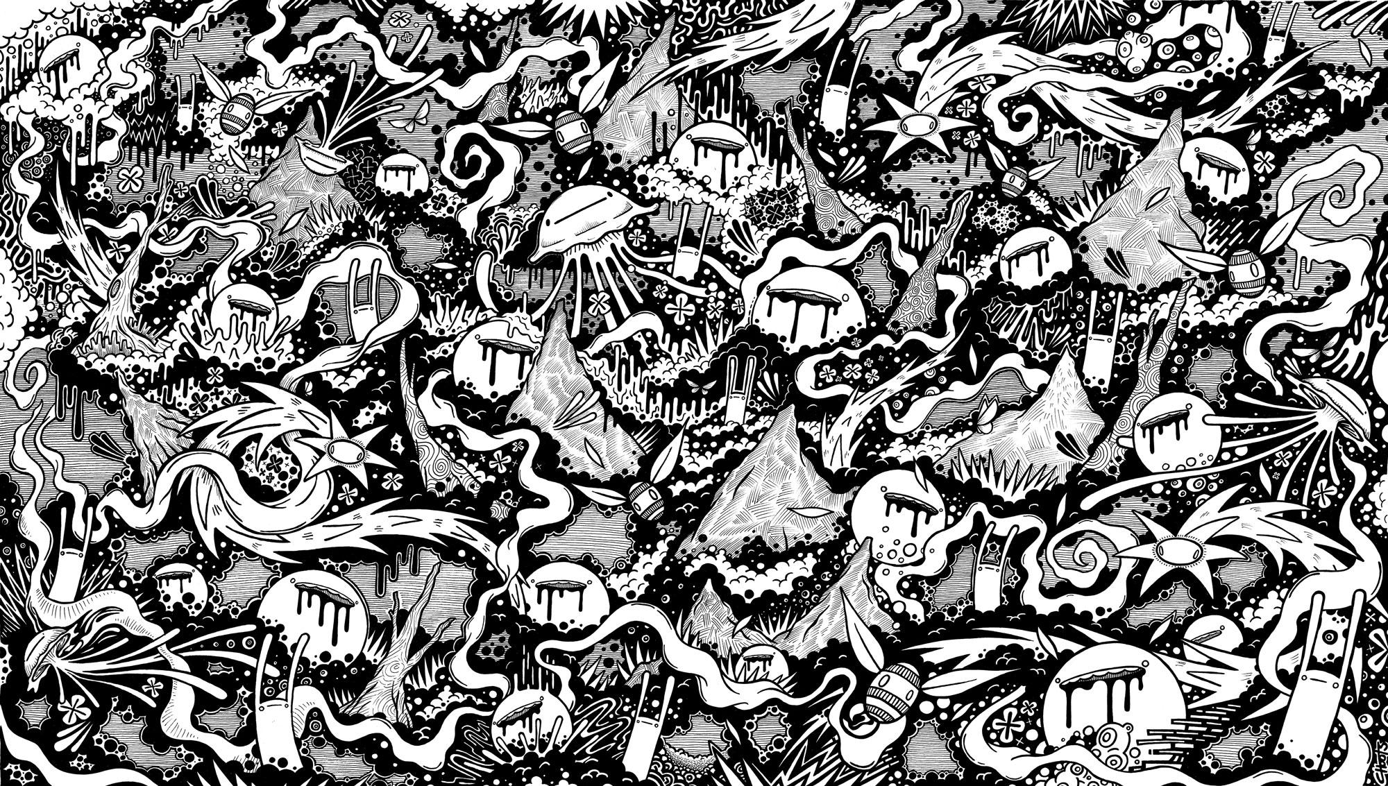 Ink Doodle 019
