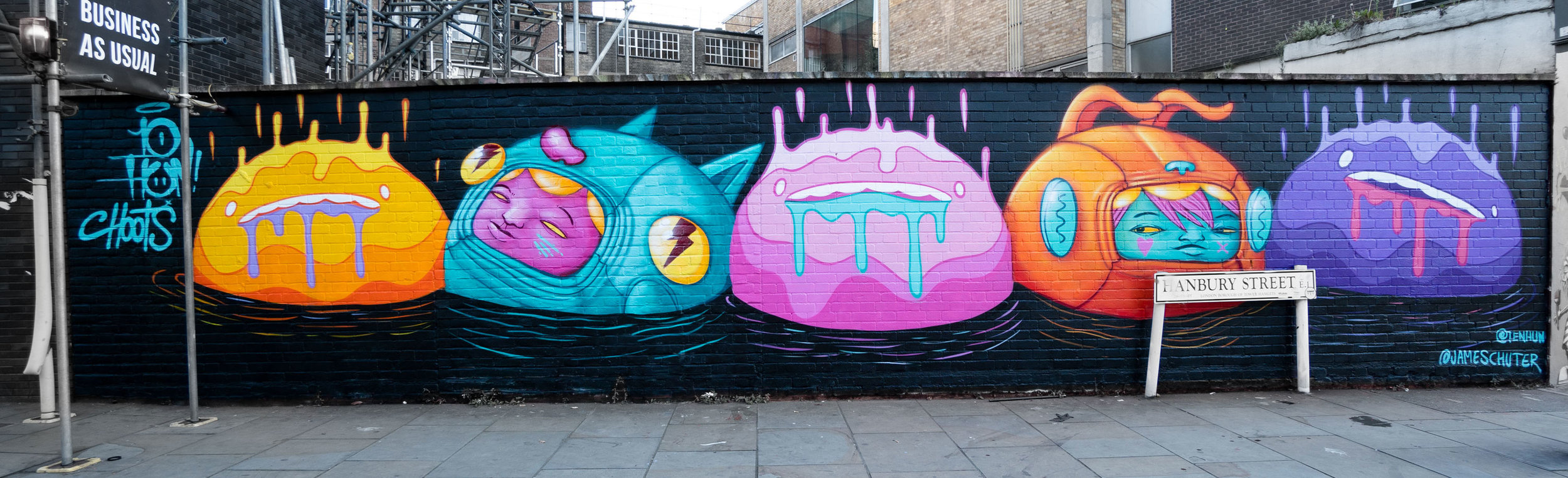 Hanbury St collab with Ten Hundred