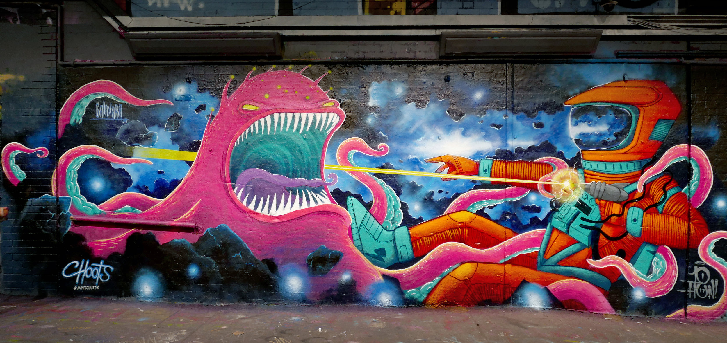 Space collab with Ten Hundred & Galaxara