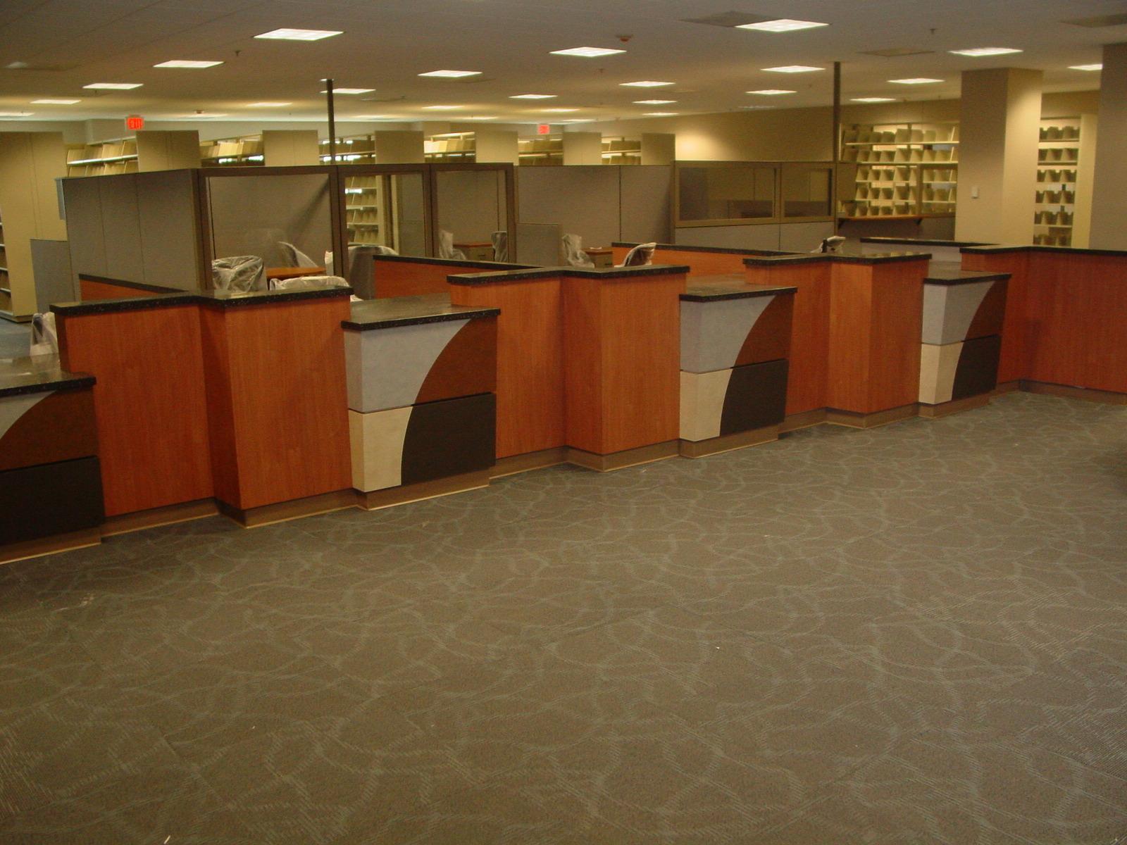 Union County Tax Office -Monroe, NC- Custom Laminate & Corian