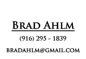 Contact Brad Ahlm, Protographer, Fair Market Photography