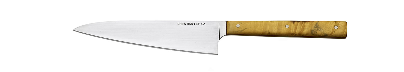 10-in. utility knife, 6-in. AEB-L blade, box elder handle