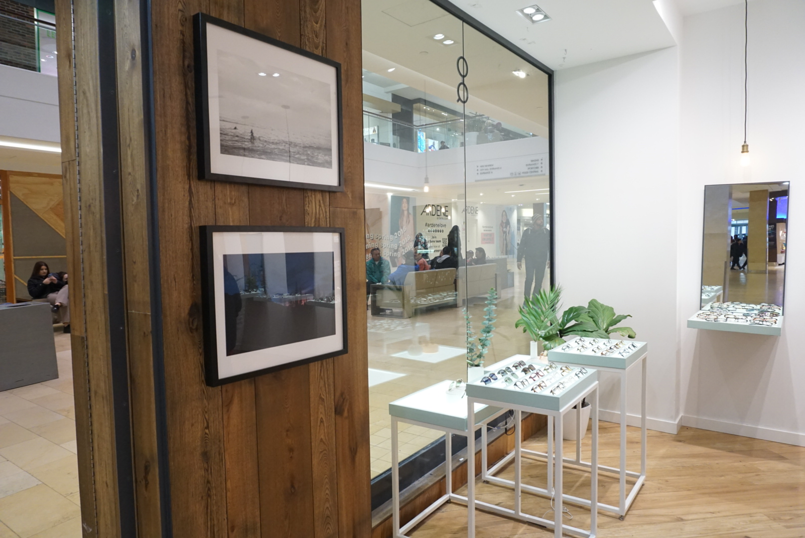Ollie Quinn - Framed prints showcased for the month of March 2018 for International Women's Day. Showcased at the Ollie Quinn Square One location in Missisauga, ON, Canada.